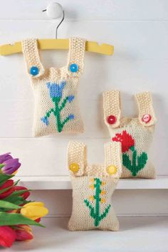 Lovely lavender bags for spring