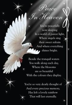 missing my husband in heaven - Bing Images Heaven Poems, Angels In Heaven, Memorial Cards, Memorial Poems, Letter From Heaven, Happy Birthday In Heaven, Birthday In Heaven Quotes, Grief Poems, Dad Poems