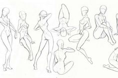 manga drawing tips Фотография - drawing Learn To Draw Manga - Drawing On Demand Drawing Body Poses, Body Reference Drawing, Drawing Reference Poses, Drawing Tips, Drawing Female Body, Female Pose Reference, Drawing Models, Anatomy Reference, Drawing Tutorials
