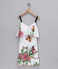 Take a look at this Very French Floral Organic Maxi Dress - Toddler by Barn Organics on #zulily today!
