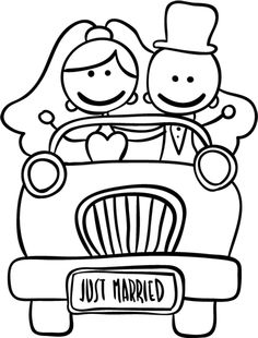 dibujos de casados - Buscar con Google Coloring Books, Coloring Pages, Wedding Plates, Plate Art, Painted Wine Glasses, Wedding With Kids, Stick Figures, Just Married, Stone Painting