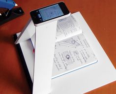 Build A Smartphone Scanner To Digitize Your Notes: Got 30 minutes and $5? DIY scanner hack