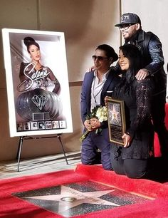 Honoring Selena Perez Quintanilla with her Official Walk of Fame Star ☆ Selena Quintanilla Perez, Suzette Quintanilla, Selena And Chris Perez, Selena Pictures, Robert Sean Leonard, Jackson, She Song, Hollywood Walk Of Fame, S Pic