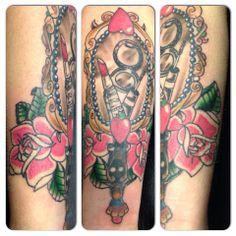 Vintage Mirror Tattoo Tattoos Pinterest Beauty And