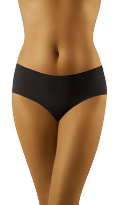 Mini Culotte Wolbar ELIANA Black Sous Vêtements - Ropa Intima - Underwear #lingerie #lenceria #Culotte #Braga #Brief #Microfibre #Wolbar