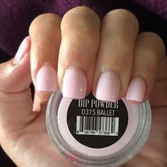 Ballet is a very light, sheer pink. Create the perfect manicure and save money on your own time with Revel Nail Dip Powder! Dip Nail Colors, Sns Nails Colors, Gel Nails, Acrylic Nails, Toenails, Sns Dip Nails, Gel Powder Nails, Dip Manicure, Nail Polishes