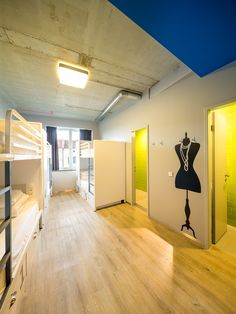 Stunning Female Shared Room at Generator Hostel Berlin Mitte