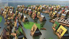 Drijvende steden zijn de utopieën van de toekomst   Motherboard