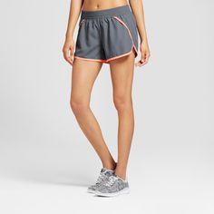Women's Fashion Run Shorts - Military Blue Solid Xxl - C9 Champion
