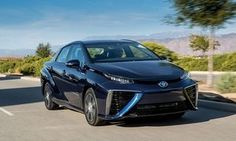 Toyota broke the mold with their Prius over a decade ago, making hybrid cars commonplace. They are hoping for a repeat story with their new hydrogen fuel-cell 2016 Toyota Mirai.Going on sale in Ca Lexus Lfa, Toyota Usa, Toyota Prius, Hydrogen Car, Fuel Cell Cars, Toyota Dealership, Small Luxury Cars, Cars Usa, Volkswagen Polo