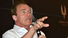"""Schwarzenegger: Climate change 'the most important issue'. """"This is a people's issue, not a party issue,"""" the film star said in Paris.  http://theclimatecrisis.tumblr.com"""