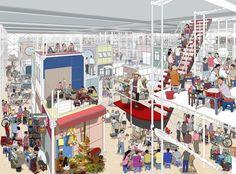 Jisoo Hwang - Autonomous Flexible Architecture towards District 4