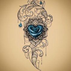 Pretty Tattoos, Unique Tattoos, Cute Tattoos, Beautiful Tattoos, Leg Tattoos, Body Art Tattoos, Small Tattoos, Tattos, Blue Rose Tattoos