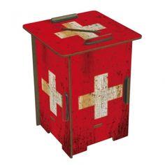 """Werkhaus Shop - Twinbox - 146 """"Flagge Schweiz"""""""