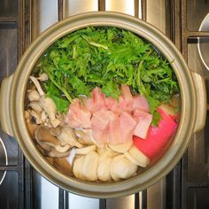 It's officially fall in New England which means breaking out the donabe for nabe (hot pot)! Mizuna fish cake harukei radishes oyster mushrooms and swordfish in homemade veggie broth    { #hotpot #mushrooms #fish #greens #japanesefood #lifeandthyme #thekitchn #glutenfree #dairyfree #plantbased #paleo #whole30 #goodfood #foodie #foodlover #foodphotography #homemade #homecooking #foodisfuel #eatwell #realfood #farmtotable #onthetable #nourish #eat #tasty #yum #nomnomnom #beyourownlight…