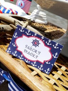 Hostess with the Mostess® - Rustic Nautical Party