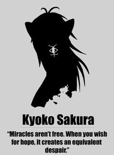 Anime character quotes - Puella Magi Madoka Magica - Homura Akemi