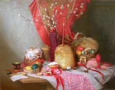 Another great Pascha painting from Ilya Kaverznev.