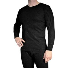 2-Piece Set: Men's Pro-Wear Thermal Top & Pants (various colors) $9  Free Shipping #LavaHot http://www.lavahotdeals.com/us/cheap/2-piece-set-mens-pro-wear-thermal-top/56144
