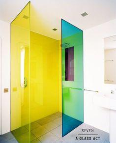 Como dar cor ao banheiro todo branco