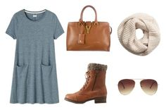 """""""fall days:)"""" by lilkfo on Polyvore featuring Toast, Charlotte Russe, Yves Saint Laurent, H&M and Forever 21"""