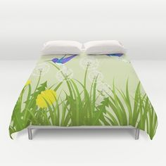 Nature Duvet Cover Personalized Color  Full Queen King  by xkbeth