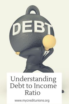 Understanding Debt to Income Ratio - Finance tips, saving money, budgeting planner Ways To Save Money, Money Tips, Money Saving Tips, Money Hacks, Debt To Income Ratio, National Debt Relief, Savings Planner, Debt Payoff, Money Matters