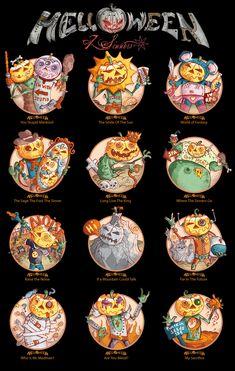 Helloween | Helloween - 7 Sinners pumpkins by ~StigmataMarcos on deviantART