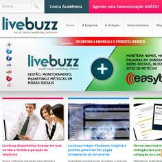 LiveBuzz é uma solução paga completa para marketing em mídias sociais.    Acesse: http://www.livebuzz.com.br/