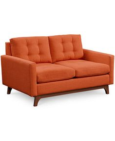 Karlie Fabric Loveseat - Couches & Sofas - Furniture - Macy's