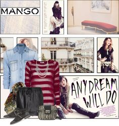 """Winter Aesthetic with Mango and That's Chic"" by nikkeeb ❤ liked on Polyvore"