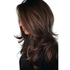 20 Popular Balayage Brown Hair Colors of 2019 - Style My Hairs Trending Hairstyles, Wig Hairstyles, Straight Hairstyles, Hairstyles 2018, Elegant Hairstyles, Haircuts, Blond, Luscious Hair, Hair Knot