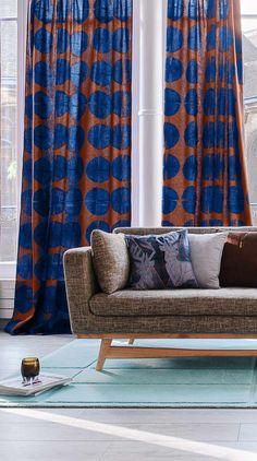 Moderner Einzel Vorhang