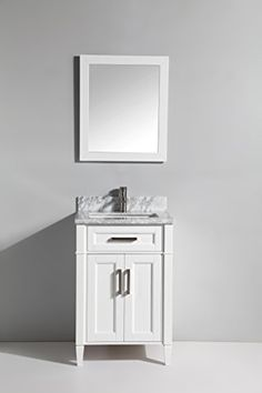 Web Photo Gallery Vanity Art Inch Bathroom Vanity Set with Carrara Marbl