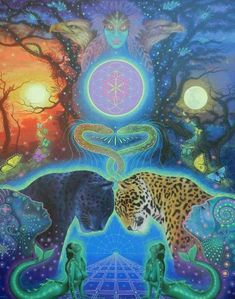 Part Two: Sacred Circle for Calling the Animals into the Diamond Vortex