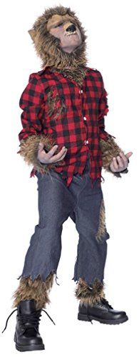 [Mens Halloween Costumes] Wolfman Child Costume Large 10-12 *** Check out the image by visiting the link. (This is an affiliate link) #MensHalloweenCostumes