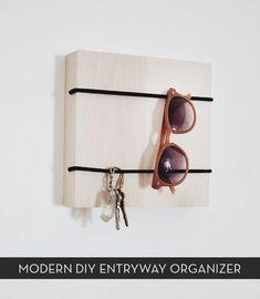 Make It: Minimalist DIY Entryway Organizer » Curbly | DIY Design Community