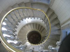 Lighthouse stairs in Portugal