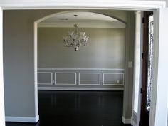 Moulding for dining room