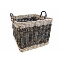 BLACK FRIDAY COMPETITION - Win a Two Tone Square Rattan Log Basket worth £50!