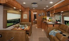 Check out this RV interior design!