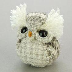 Нашествие сов и мышей Owl Crafts, Owl Patterns, Wonderful Things, Pin Cushions, Creatures, Nursery, Kawaii, Crafty, Sewing