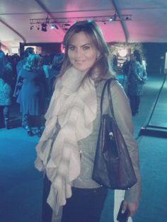 FOTO @pinagaby ayer desde @FashionWeekMx #amexfashion cc @educorderov