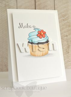 Cupcake; wish die popped up