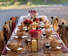 Intimate dinner party with blankets for guests as the night cools. This might be fun for an early fall outdoor party. Outdoor Dinner Parties, Dinner Party Table, Dinner Club, Wine Dinner, Party Tables, Fall Dinner, Dessert Tables, Dining Tables, Dining Chair