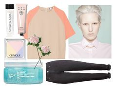 """Pale"" by lauracooperrrr on Polyvore featuring MSGM, H2O+, Laura Cole, Fig+Yarrow, Bobbi Brown Cosmetics, women's clothing, women's fashion, women, female and woman"