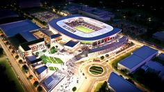 Nevertheless according to Internet-publications the date of stadium`s opening is timed for 2018.