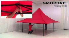 Setup of a MASTERTENT Shop (3x3 m)
