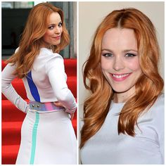 Hair Color How-To: Inspiration & Formulation for Rachel McAdams' Flaming Red