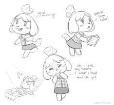 Image Result For Animal Crossing Isabelle Lineart